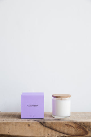Le Feu De L'eau Candle in Grapefruit + Tobacco | Oroboro Store | Brooklyn, New York