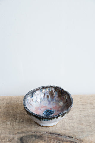 Minh Singer Iridescent Footed Iceland Bowl | Oroboro Store | Brooklyn, New York