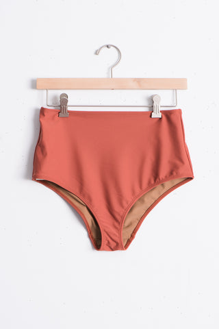Nu Swim Basic High Bottom in Rod | Oroboro Store | Brooklyn, New York