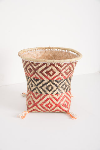 Tall Mehinako Buriti Basket | Oroboro Store | Brooklyn, New York
