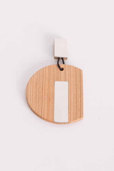 Nehera Magnetic Wood Earring | Oroboro Store | New York, NY