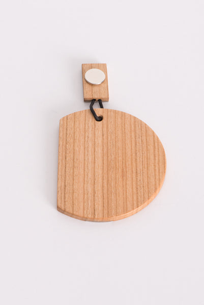 Magnetic Wood Earring