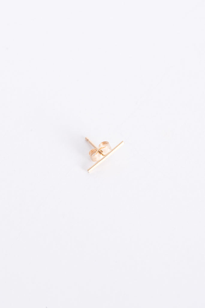 Kathleen Whitaker Staple Stud in Gold | Oroboro Store | New York, NY