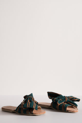 Brother Vellies Burkina Slide in Verde | Oroboro Store | New York, NY