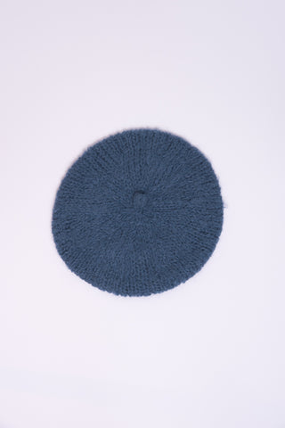 Clyde Mohair Beret in Cornflower Blue | Oroboro Store | New York, NY
