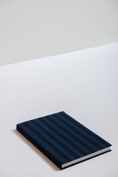Saikai Matsusaka Momen Notebook in Wide Stripe | Oroboro Store | New York, NY
