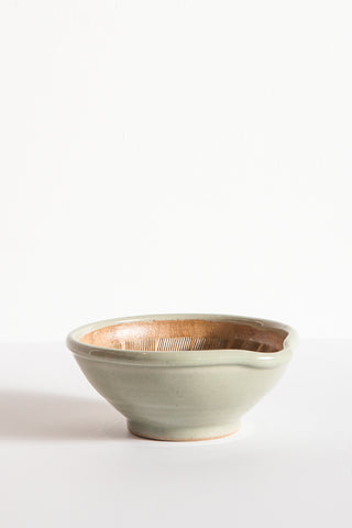 Travel Find Carved Ceramic Bowl in Sea Green | Oroboro Store | New York, NY