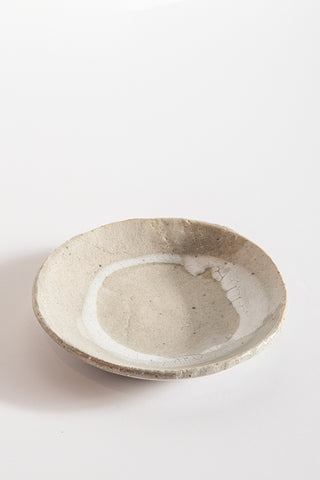 Travel Find Ceramic Plate in Natural and White Glaze | Oroboro Store | New York, NY