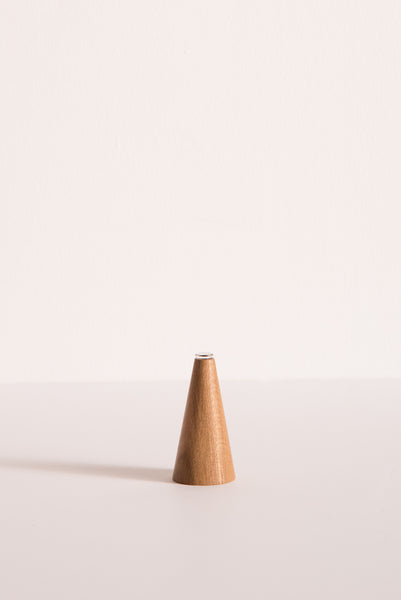 White Oak Bud Vase