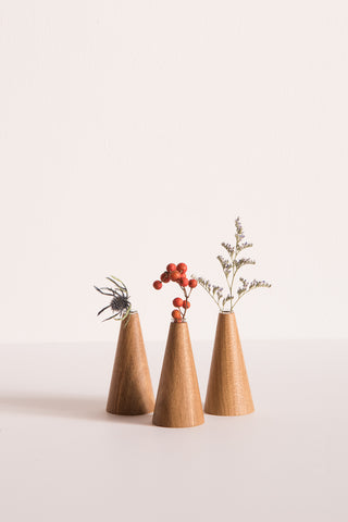 Travel Find White Oak Bud Vase | Oroboro Store | New York, NY