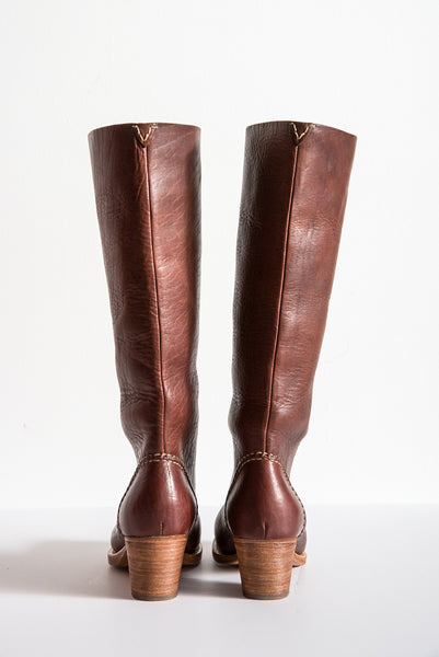 Visvim Rosebud Boots Folk Bison in Brown | Oroboro Store | New York, NY
