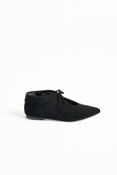 Ulla Johnson Duke Flat in Noir | Oroboro Store | New York, NY