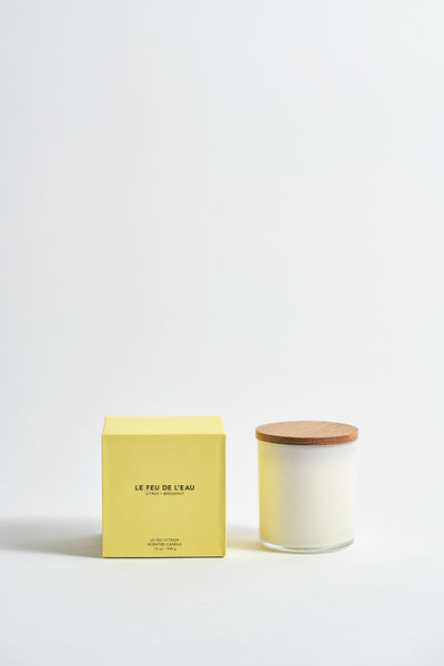 Colorblock Candle in Citrus + Bergamot