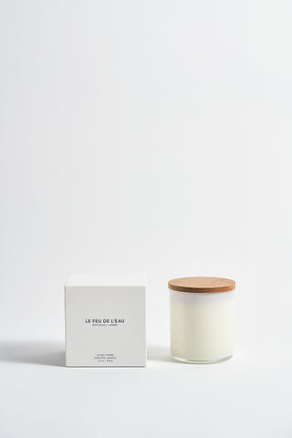 Le Feu De L'Eau Colorblock Candle in Patchouli + Amber | Oroboro Store | New York, NY