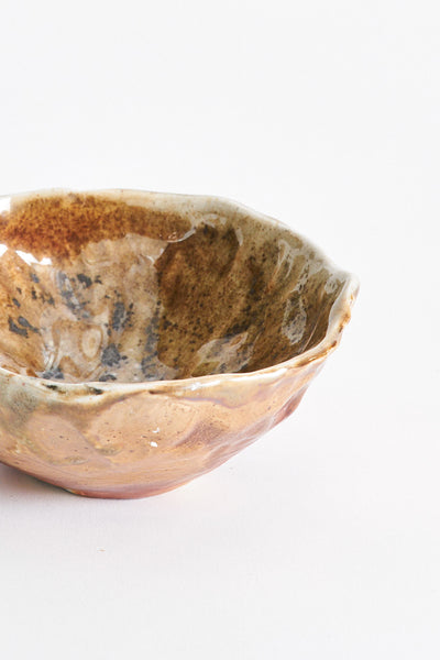 Wood Fired Stoneware Bowl in Hazel | Oroboro Store | New York, NY