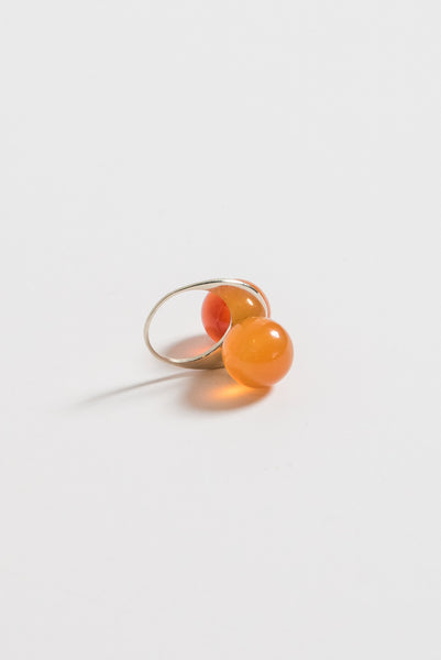 Samma Ring in Coral | Oroboro Store | New York, NY