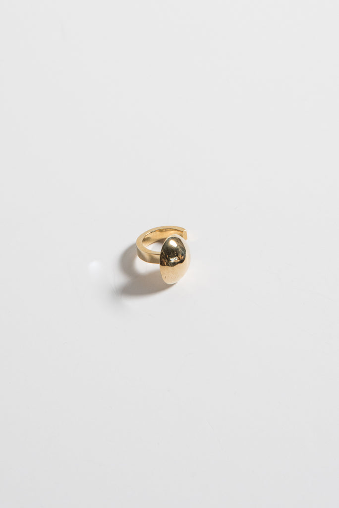 Quarry Sloane Ring in Brass | Oroboro Store |  New York, NY