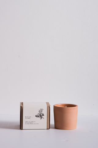 P.F. Candle Terra Soy Candle in No. 4 Olive | Oroboro Store | New York, NY