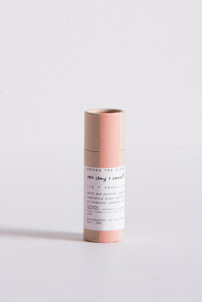 Among the Flowers Lip & Cheek Tint in Rose Clay & Carrot | Oroboro Store | New York, NY