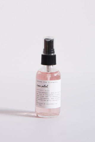 Among the Flowers Rose Petal Hydrosol Mist | Oroboro Store | New York, NY