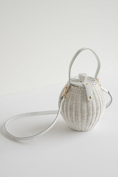 Ulla Johnson Tautou Basket in Blanc | Oroboro Store | New York, NY