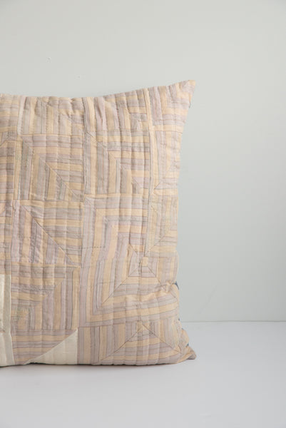 Counterpane Champagne & Lavender Pillow | Oroboro Store | Brooklyn, New York