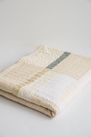 Counterpane Large White Quilt | Oroboro Store | New York, NY