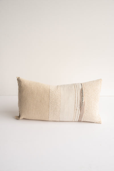 Jess Feury White Sands Pillow in Multi | Oroboro Store | New York, NY