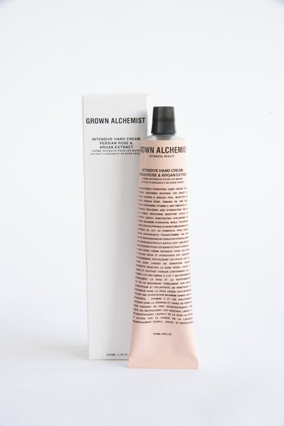Grown Alchemist Intensive Hand Cream in Persian Rose and Argan Extract | Oroboro Store | New York, NY