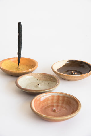 Incausa Incense Holder in Tenmoku | Oroboro Store | New York, NY