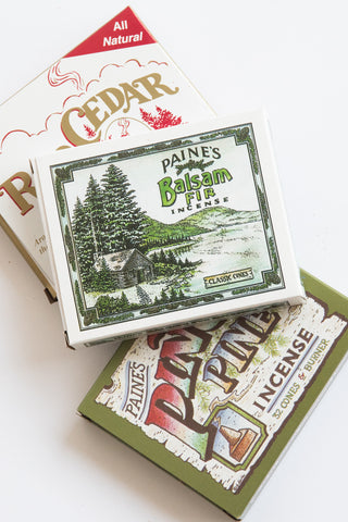 Paine's Cone Incense in Balsam Fir | Oroboro Store | New York, NY