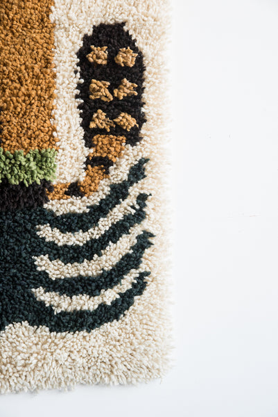 Tamar Mogendorff Palm Rug in Natural | Oroboro Store | New York, NY