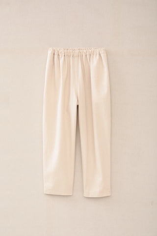 Lauren Manoogian Canvas Pantaloon in Natural front view