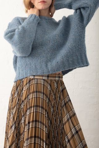 Samuji Misty Maiken Sweater in Light Blue| Oroboro Store | New York, NY