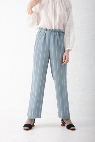 Tomorrowland  Pant in Blue Stripe | Oroboro Store | New York, NY