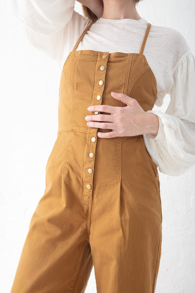 Ulla Johnson Elton Jumpsuit in Bronze | Oroboro Store | New York, NY