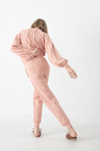 Ulla Johnson Damara Jumpsuit in Rose | Oroboro Store | New York, NY