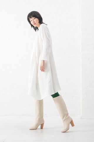 A Detacher Diodore Dress in White | Oroboro Store | New York, NY