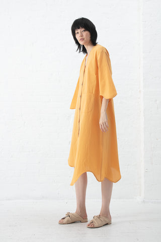 Correll Correll Curves Shirt Dress in Yellow| Oroboro Store | New York, NY