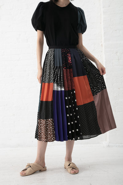 Correll Correll Omo Skirt - One-of-a Kind in Black | Oroboro Store | New York, NY