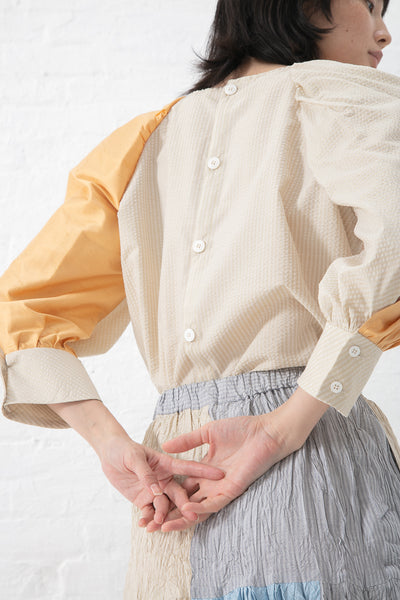 Eatable of Many Orders Sericulture Skirt in Multi | Oroboro Store | New York, NY