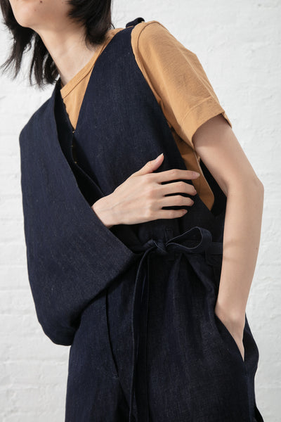 Eatable of Many Orders Eclosion Overall in Indigo | Oroboro Store | New York, NY