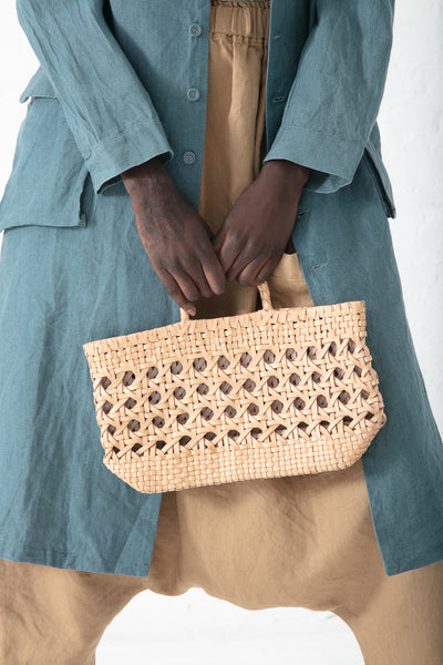 Ichi Antiquites Small Mesh Tote in Natural | Oroboro Store | New York, NY