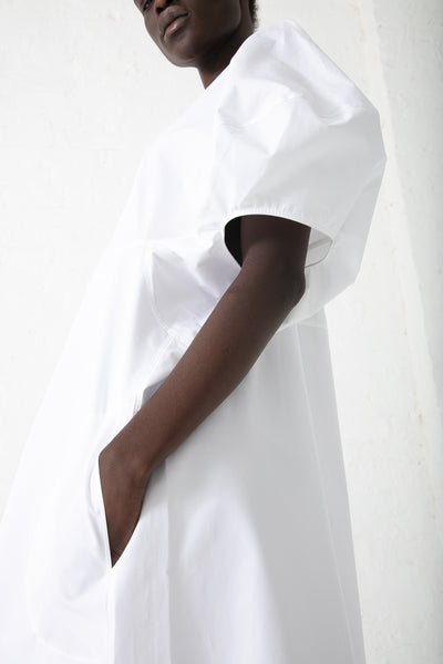 Sofie D'Hoore Dot Dress in White | Oroboro Store | New York, NY