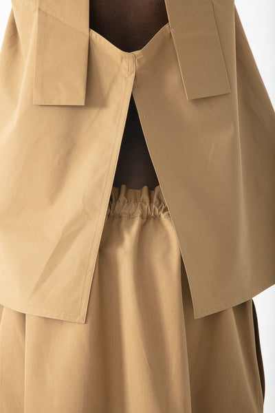 Sofie D'Hoore Serra Skirt in Cinnamon | Oroboro Store | New York, NY