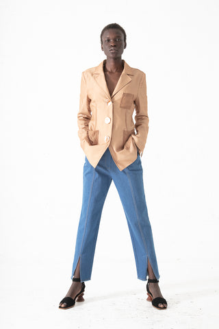 Rejina Pyo Elise Trouser in Blue | Oroboro Store | New York, NY