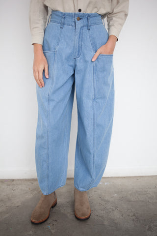 69 Bell Pant in Medium Light Wash | Oroboro Store | Brooklyn, NY