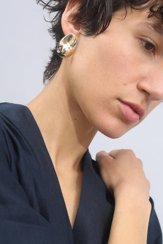 Pial Earrings in Brass