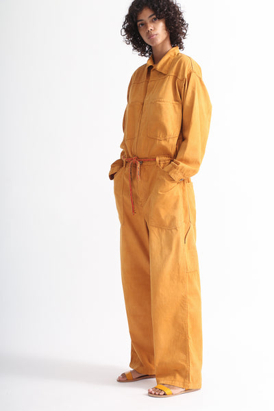 Dr. Collectors Mecano Jumpsuit in Cloud Pumpkin on model view side