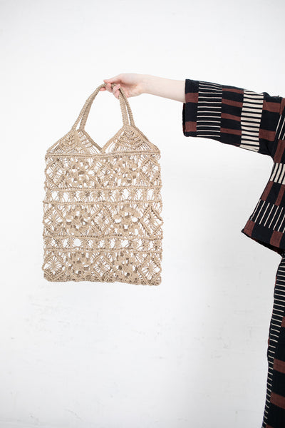 Brother Vellies Garden Tote in Handwoven Jute | Oroboro Store | New York, NY